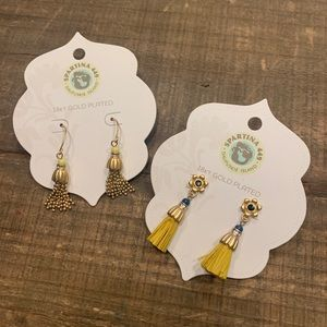 (2) pairs of Spartina 449 earrings